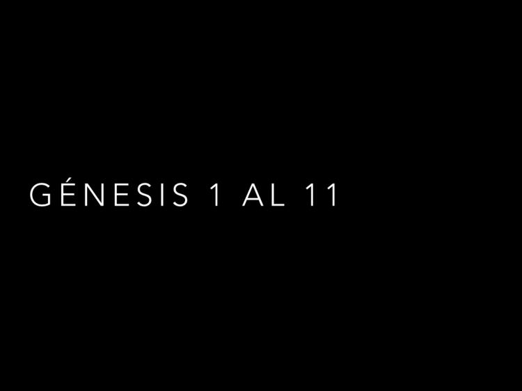 Segunda semana  Genesis 1-11.003